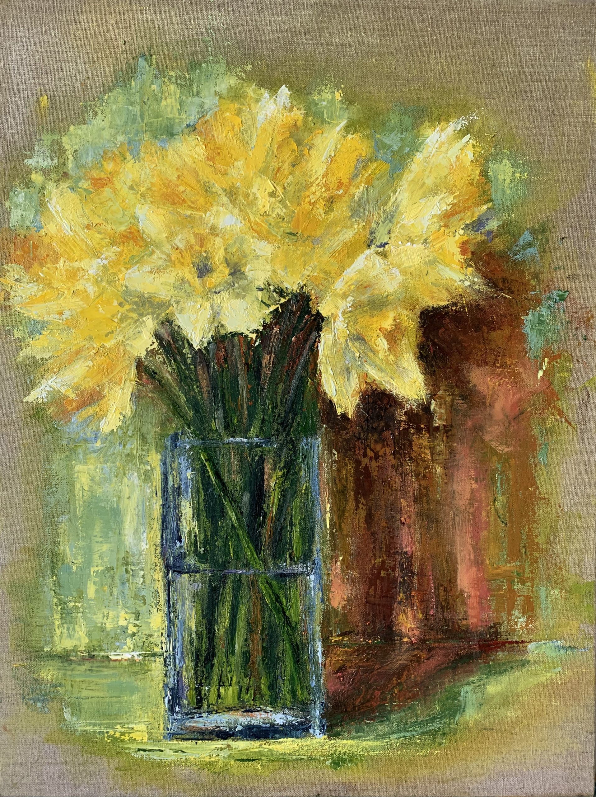 Spring light and daffodils